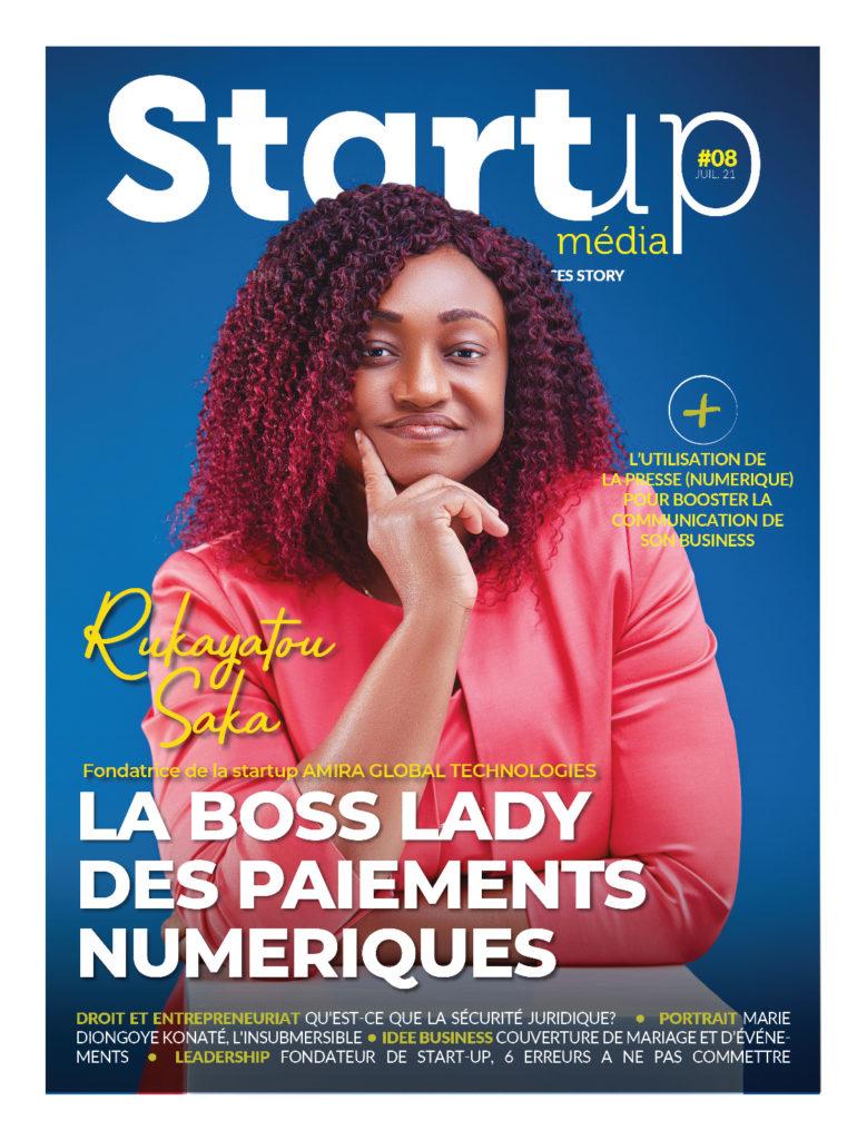 Startup webzine Juillet