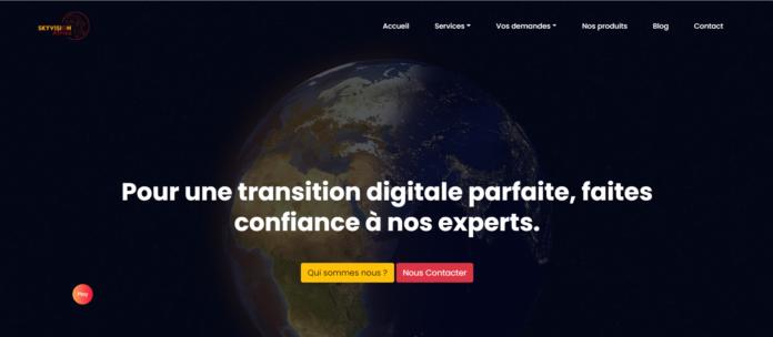 SkyVision Africa startup digitalise