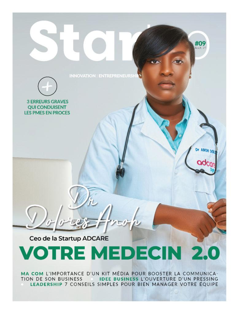 Startup media magazine Aout 2021